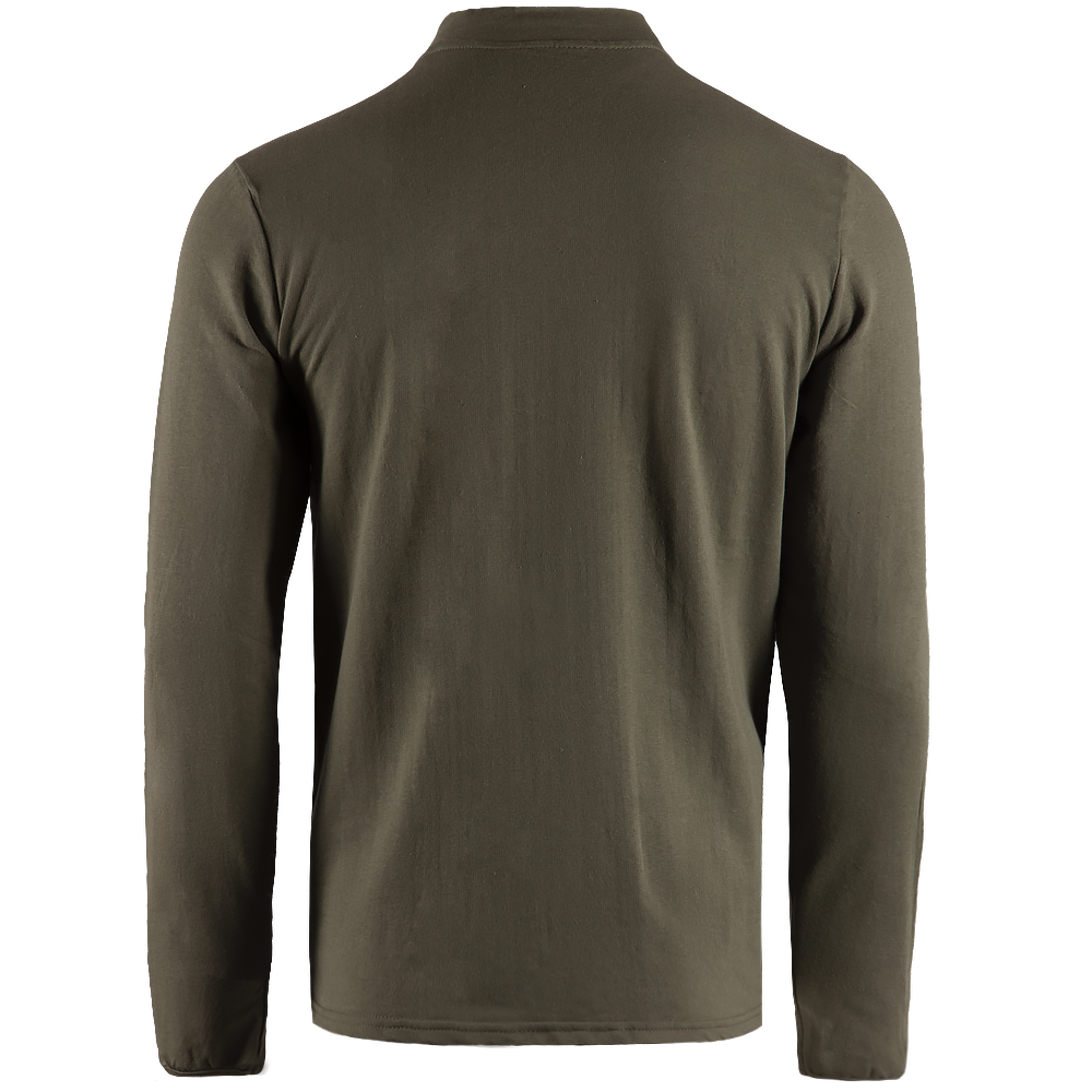 Long sleeve Cotton Olive-фото4845