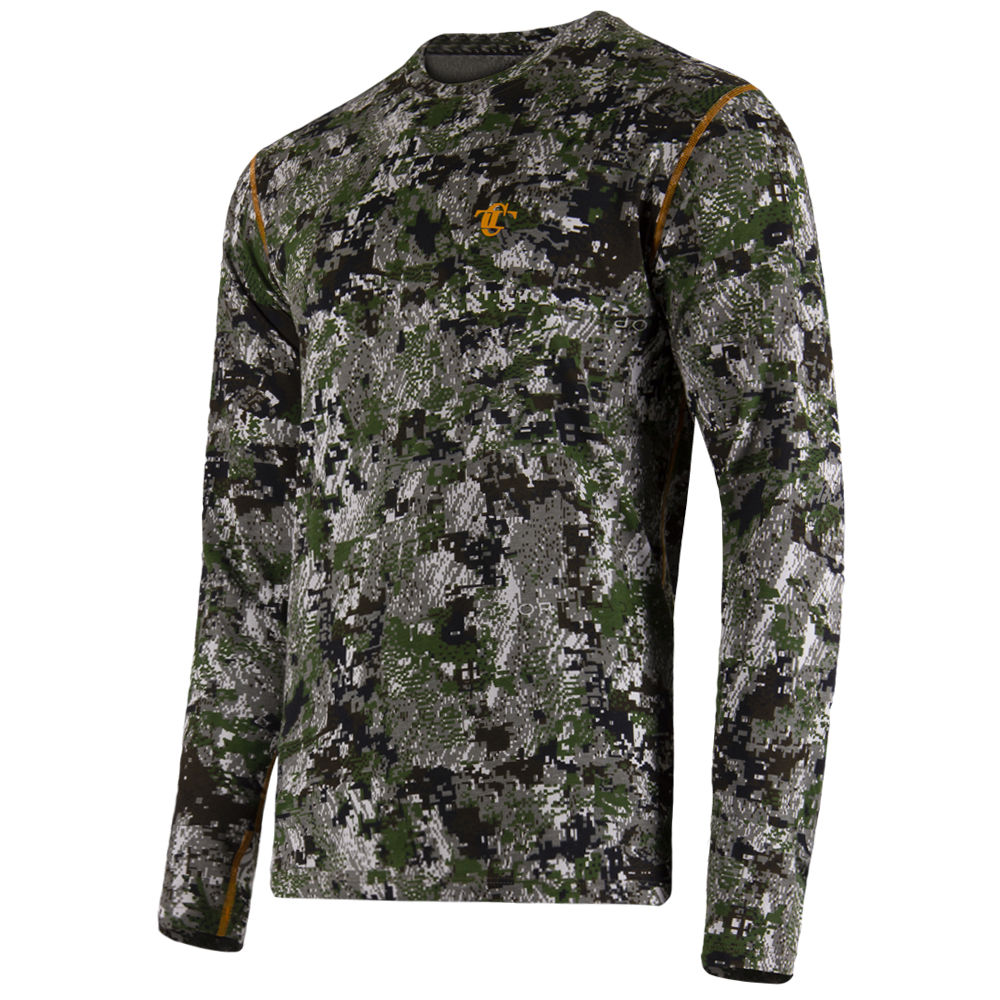 Long sleeve Gen.II Cotton Sitka Green-фото2683