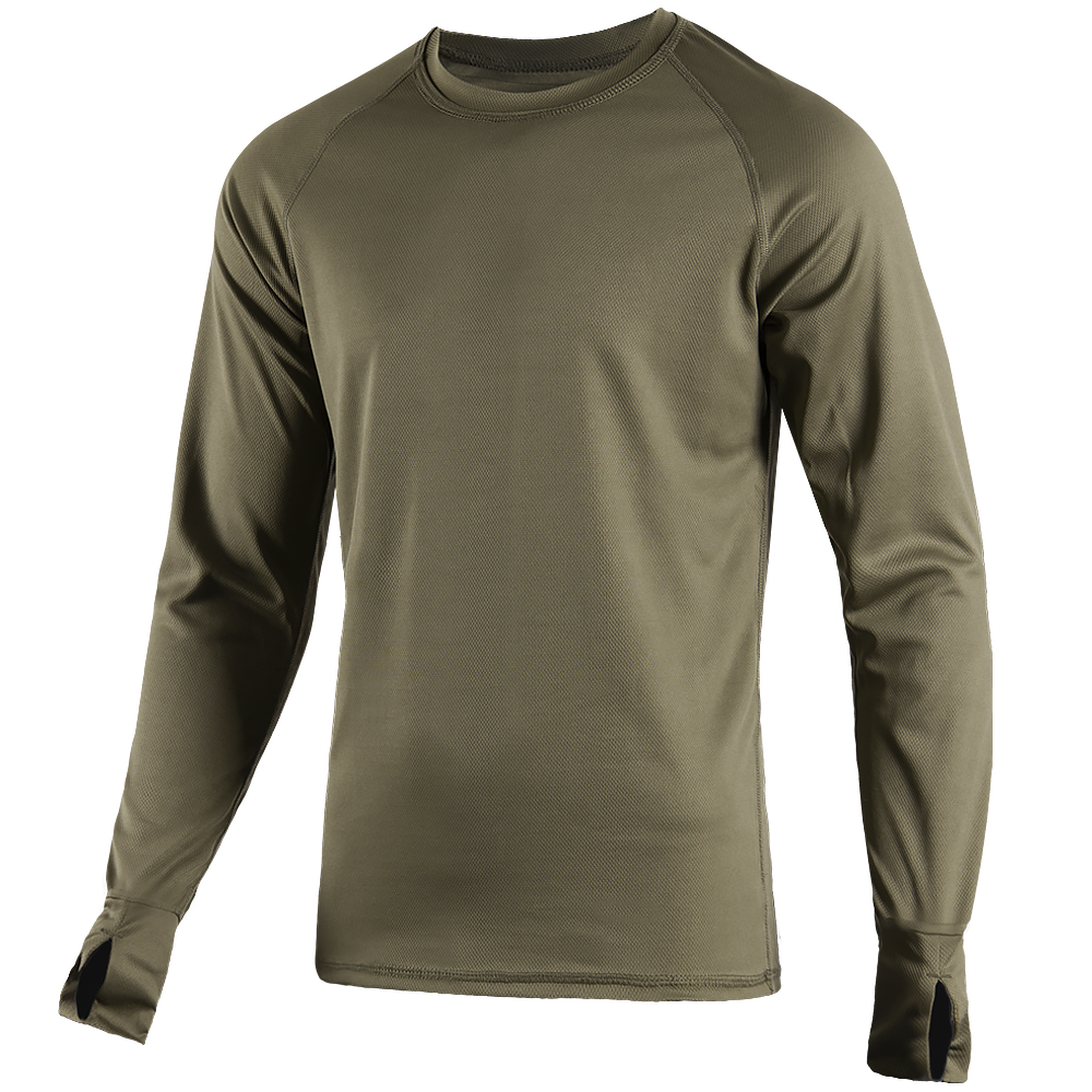 Long sleeve CoolPass Olive-фото2035