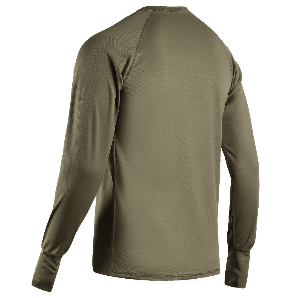 Long sleeve CoolPass Olive-фото2036