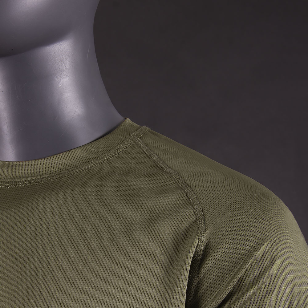 Long sleeve CoolPass Olive-фото2038