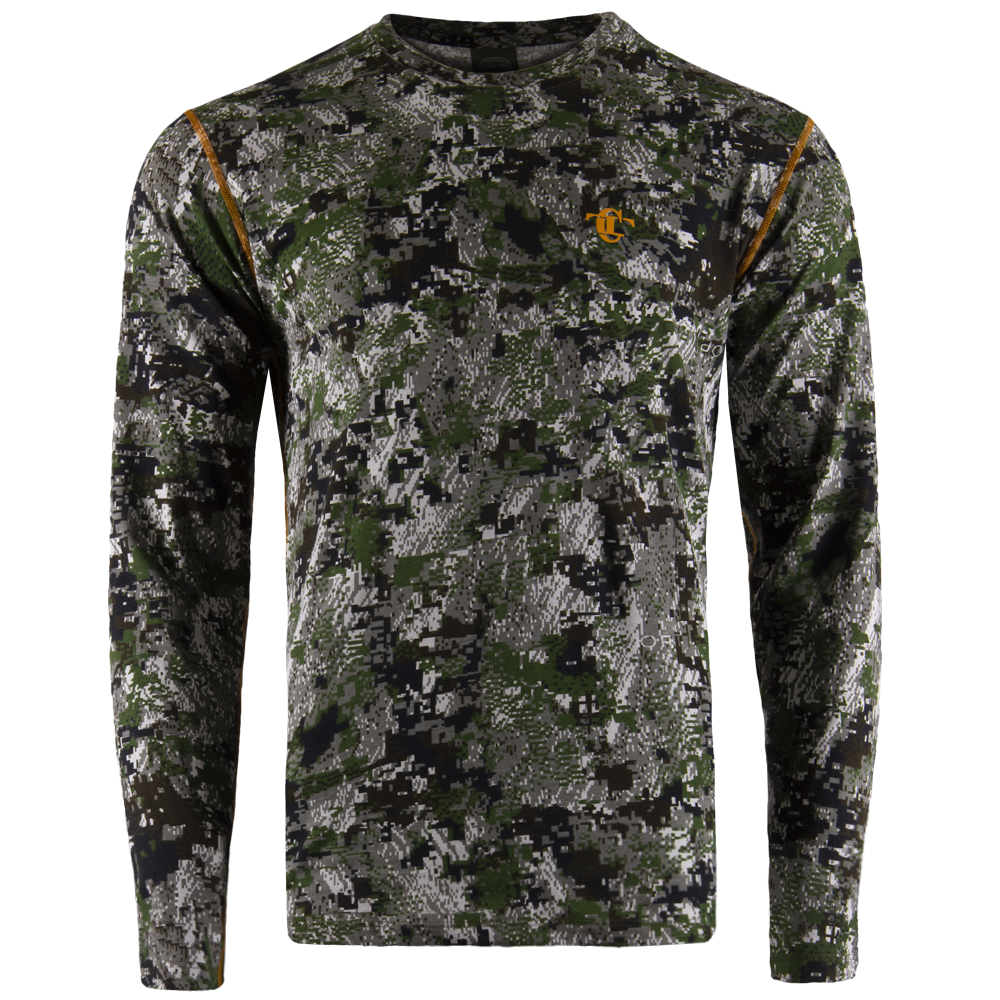 Long sleeve Gen.II Cotton Sitka Green-фото2682