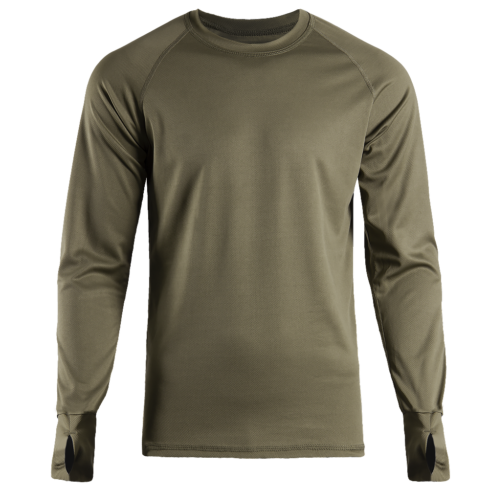 Long sleeve CoolPass Olive-фото2034