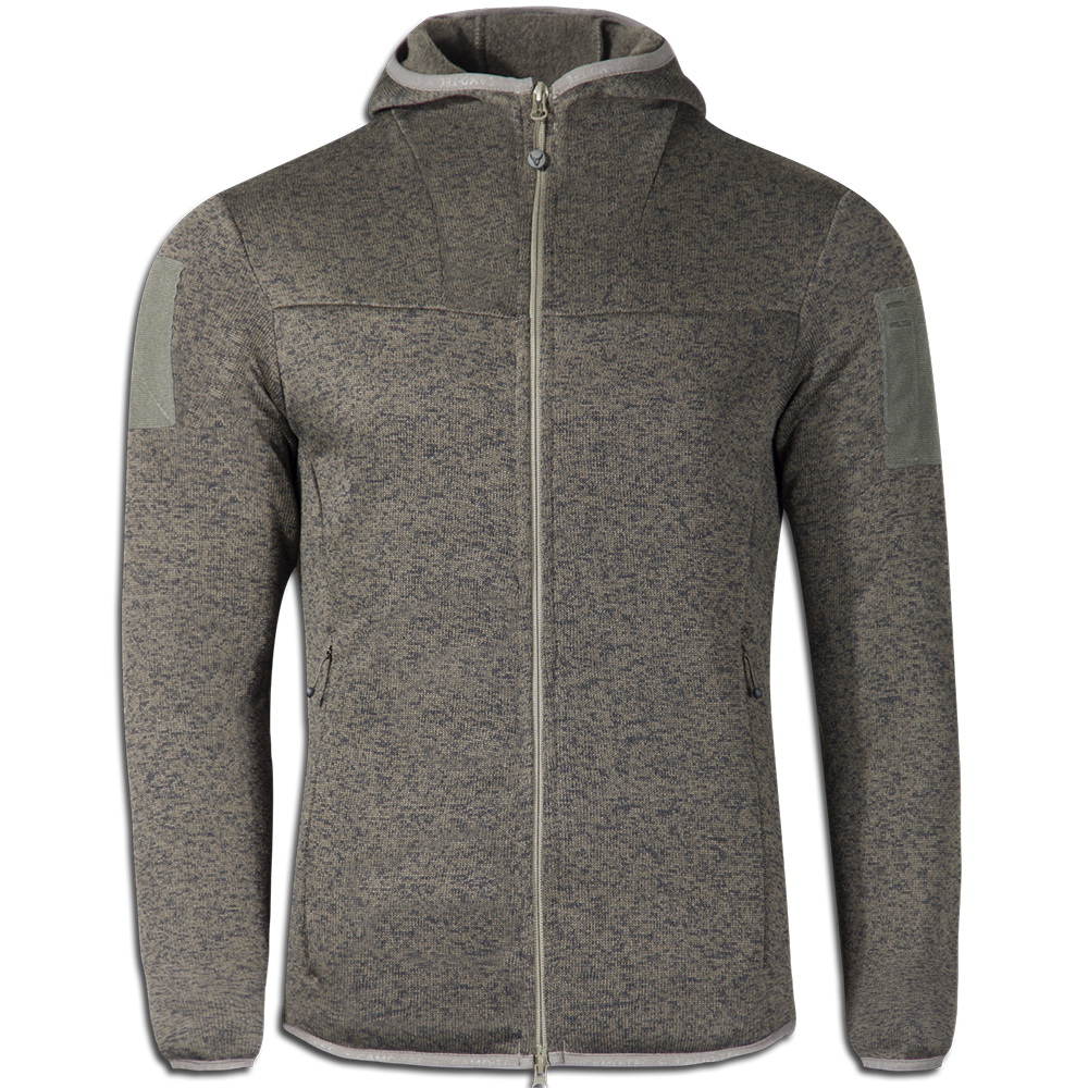 Кофта COMMANDER Hoody Strike Fleece 270 Melange Olive-фото1187