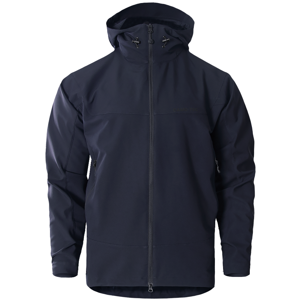 Куртка Falcon Hoody DW Poly Dark Blue-фото6244