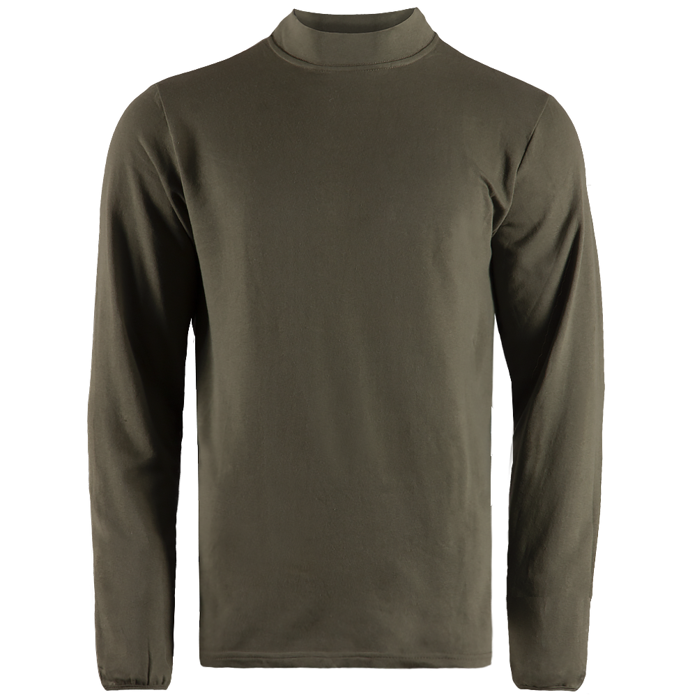 Long sleeve Cotton Olive-фото4843